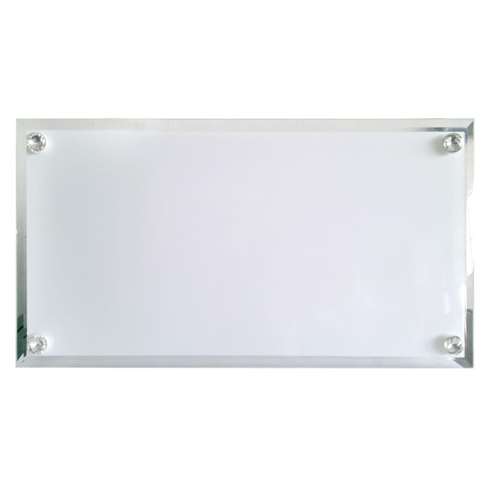 Portaretrato para sublimación en vidrio de 30x16 cm.