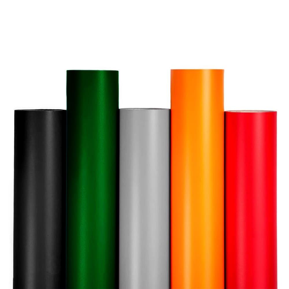 Vinil textil en variedad de colores