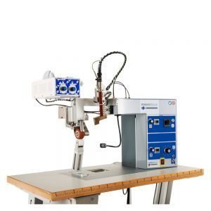 Máquina para reforzar y decorar MX210 de Framis Italia