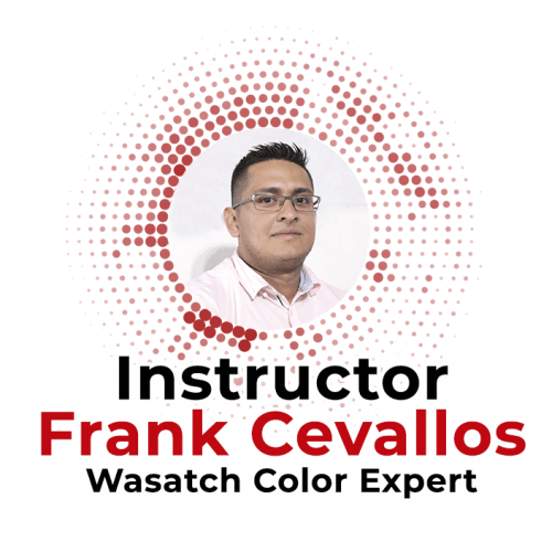 Frank Cevallos Instructor - Wasatch Color Expert