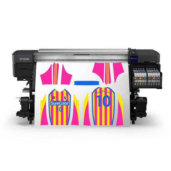 Plotter para Sublimación SC-F9470H con colores fluorescentes (162 cm de ancho)